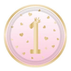 Primo compleanno ombre rosa