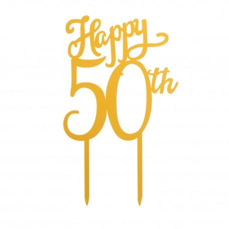 cake-topper-50th-anniversary-16x10cm